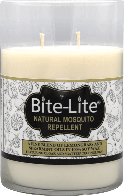 NATURAL Mosquito Repellent Soy Wax Cylinder Candle